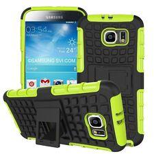 Protezione Antiurto Resistente Forte 2 Strato Telefono Custodia Cover+Stand ✔