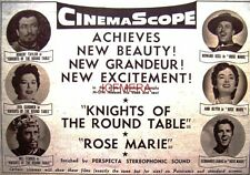 KNIGHTS OF THE ROUND TABLE Original 1954 Film Advert - Ava Gardner Movie Ad