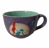 Disney LITTLE MERMAID Ariel 24 oz. Ceramic Coffee/Soup Mug New