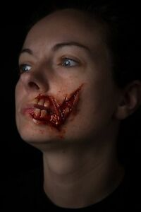 Walking Dead Zombie Mouth Prosthetic Cosplay Halloween