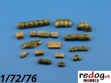 Redog 1:72 resin modelling/dioramas vehicle stowage military detailing kit /k5