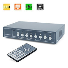 Toughsty 8Ch Color Non-Realtime Video Quad Processor CCTV Security Video with &