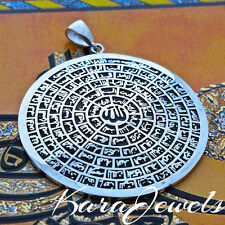 925 Sterling Silver Islamic Pendant with Asma-ul-Husna 99 Names of ALLAH