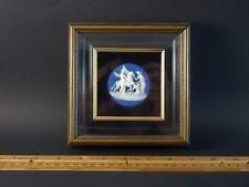 Antique Framed Wedgwood Jasperware Medallion Plaque 18th or 19th Century