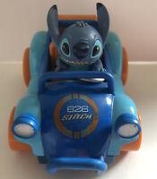 Disney LILO & STITCH PULL BACK & GO Blue Orange 626 Friction STITCH CAR