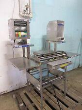"""Mettler Toledo"" Commercial Packaging Station: Heat Sealer/Scale/Label Printer"