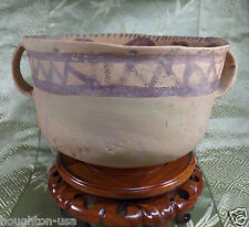 RARE Ancient Chinese Terracotta Yangshao Culture Offering Bowl w/Translation!