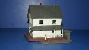 Vintage HO Scale RR Model Train Building Accessory W Germany COUNTRY HOUSE HOME