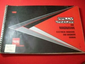 1993 GMC TRUCK - RALLY VANDURA MODELS - ELECTRICAL DIAGRAMS & DIAGNOSIS MANUAL