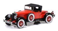 1:43 Esval Models EMUS43005B Stutz Black Hawk speedster 1928 Red / Black *OVP*