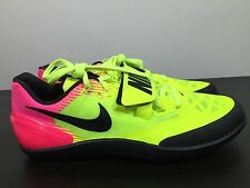 New Sz 10 Mens Nike Zoom Rotational 6 Track Volt Pink Shotput Discus 685131-999
