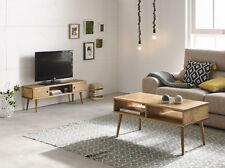 Hogar24-Conjunto 2 muebles: Mesa de centro diseño vintage + Mueble televisión