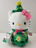 """HELLO KITTY SANRIO 12"""" PLUSH ANIMATED TABLE TOP DECOR CHRISTMAS TREE HOLIDAYS"""
