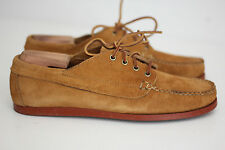 Oak Street Bootmakers Peanut Suede Brick Sole Trail Oxfords - Size 11D (A71)