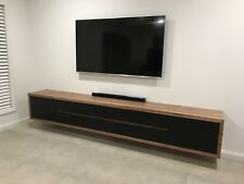 Wormy Chest Hardwood Timber Fairmont+ Wall Mounted Tv Entertainment Unit