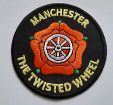 NORTHERN SOUL MUSIC SEW ON / IRON ON PATCH:- MANCHESTER THE TWISTED WHEEL