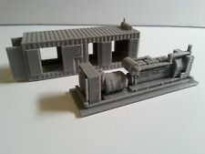 N scale power containers (x2) Kits!