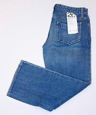PAPER DENIM & CLOTH Super Low CROPPED Jeans KIMBERLY 26 FREE SHIPPING