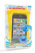 Dicapac WP-i10 Waterproof Case for iPhone 4 or 3G/3GS YELLOW free US shipping