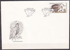 CZECHOSLOVAKIA 1989 FDC SC#2747 Eagle - Haliaeetus albicilla