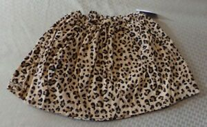 NEW! Carter's ~ GIRLS SIZE 5T ~ LINED Animal Print SKIRT  NWT
