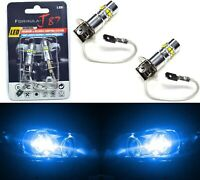 LED 50W H3 Blue 10000K Two Bulbs Fog Light JDM Color Replacement Plug Play