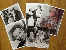 Roy Rogers & Dale Evans SIGNED Book Photo  & Photos Trigger King of Cowboy