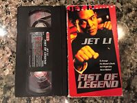 Fist Of Legend Vhs! 1994 Action! See) Fist Of Fury II & Fearless