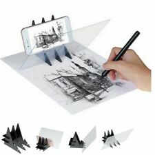 Optical Mirror Reflection Projection Drawing Board Painting Sketch Tracing Plate