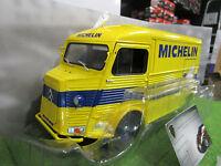 CITROEN TYPE HY MICHELIN de 1969 jaune au 1/18 SOLIDO S1850002 voiture miniature