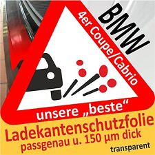 BMW 4er Coupe/Cabrio Pellicola Protezione Vernice Paraurti Pellicola Pellicola protettiva per auto