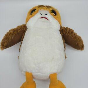 "BAB Build a Bear PORG Bird Star Wars Stuffed Plush 14"", Sits 12"" Retired"