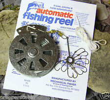 YO YO AUTOMATIC FISHING REEL + FREE EXPLOSION HOOK - SURVIVAL FISHING BUSHCRAFT