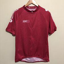 Scody 2011 Ride To Cure Diabetes Cycling 3/4 Zipper Jersey Shirt Red Mens XL