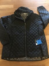 Columbia Women's Plus Size 3X Omni Heat Black Fall Coat Winter 3XL Jacket Hood