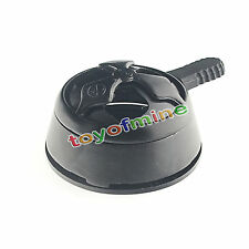 Metal Shisha Charcoal Holder Hookah Bowl Wind Cover Heat Management System Black