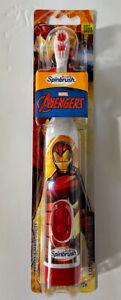 Kids Spinbrush Toothbrush Iron Man Marvel Avengers
