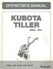 Kubota At70s Manual