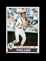 1979 Topps Baseball #297 Ted Sizemore (Phillies) NM-MT #A