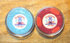 Tropicana Hotel Casino Chip Golf Ball Marker Set - Las Vegas, Nevada - 1972