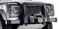 Genuine Land Rover Defender 'A' Frame Nudge Bar Winch Version  VPLPP0061