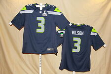 RUSSELL WILSON Seattle Seahawks  NIKE Super Bowl JERSEY   2XL  NWT  $120 retail