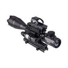 New Rifle Scope Combo 4-16x50EG Illuminated Optics Sight & JG13/G Green Laser