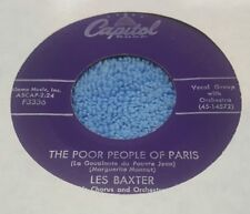 Les Baxter His Chorus And Orchestra – The Poor People Of Paris  (VG)