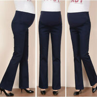 Maternity WomanS High Waist Pants Trousers Pregnant Comfort Prop Belly Legging