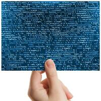 "Computer Coding Hacker Game Small Photograph 6"" x 4"" Art Print Photo Gift #8485"