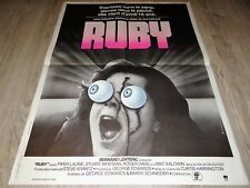 RUBY ! piper laurie affiche cinema horreur vintage visuel 1976