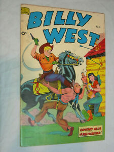 Billy West #8 F Double Cover Schomburg cover * 2 WOW