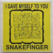 "SNAKEFINGER I Gave Myself To You 1986 AUSTRALIA 7"" The Residents 45 w/ PS ♫HEAR♫"