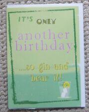 …so gin and bear it! Birthday Greetings Card
